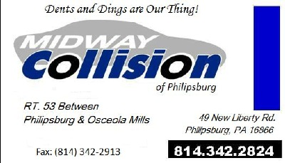 49 New Liberty RD., Philipsburg, PA 16866. (814) 342-2824